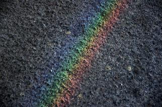 05. Juni 2014 - Der Regenbogen am Boden