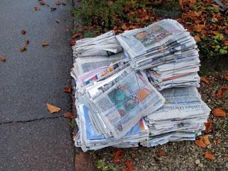 22. Februar 2014 - Zeitungssterben