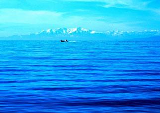 18. Februar 2014 - Nicht Zürichsee und Glarneralpen - Mittelmeer und Pyrenäen