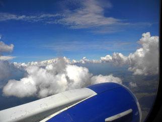 28. März 2014 - Über den Wolken von Afrika