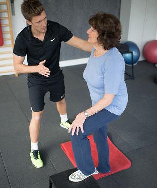 Seniorentraining mit Personal Trainer Clemens Delpin