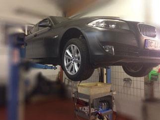 Getriebespülung BMW ZF 8HP45