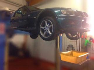 Getriebespölung BMW Z3