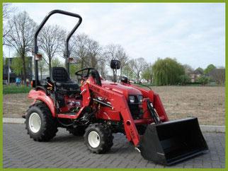 Onze mini tractor