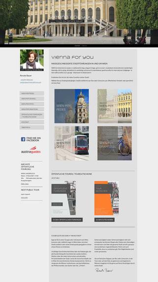 webdesign fremdenführer wien