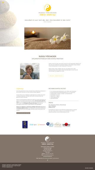 shiatsu webdesign