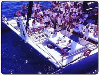 fiesta en barco las palmas de Gran canaria