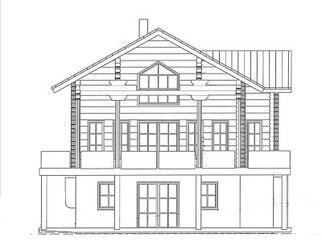 Blockhaus mit Wohnkeller - Planung Harald Lerg Holzhaus