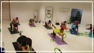 Bauch Bein Po Training