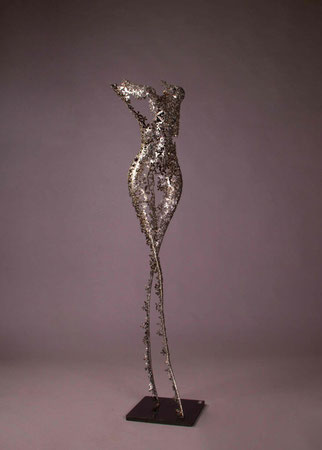 Female torso metal