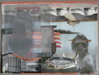 Seelandschaft mit Pocahontas I 30 x 42 2010