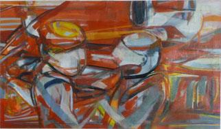Gratulation 2 70 x 120 Öl Lw .2011