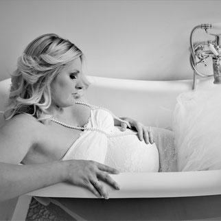 badkuip als onderdeel van de studio