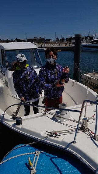 ススギF250 ヤマハF150納艇