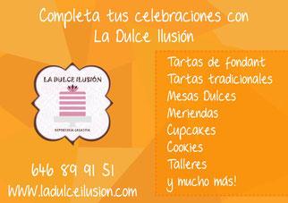 Cumpleaños y celebraciones infantiles. Tartas de fondant y mesas dulces en Cartagena. Cupcakes, cookies, talleres, meriendas infantiles