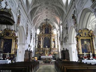 XII Kreuzwegstation, St. Johannes Baptist, Pfaffenhofen (Ilm)