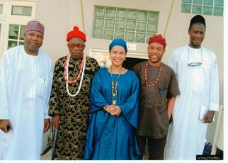 Atelier participatif avec les leaders traditionnels au Nigeria