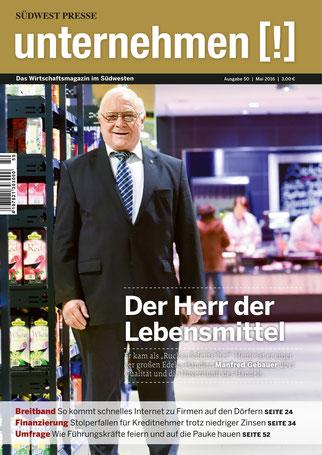 Unternehmen[!]- Magazin mit Mann 13