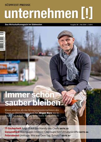 Unternehmen[!]- Magazin mit Mann 5