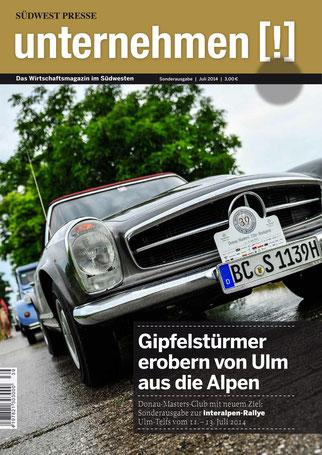 Unternehmen[!]- Magazin mit Auto