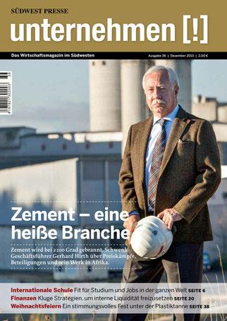 Unternehmen[!]- Magazin mit Mann 3