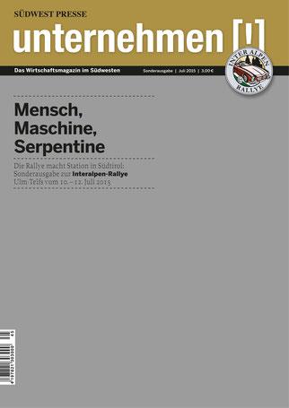 Unternehmen[!]- Magazin grau