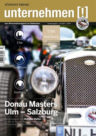 Unternehmen[!]- Magazin mit Auto 3