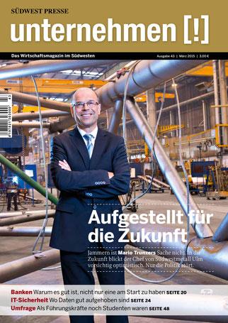Unternehmen[!]- Magazin mit Mann 8