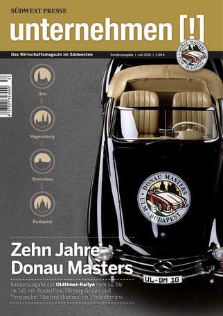 Unternehmen[!]- Magazin mit Auto 2