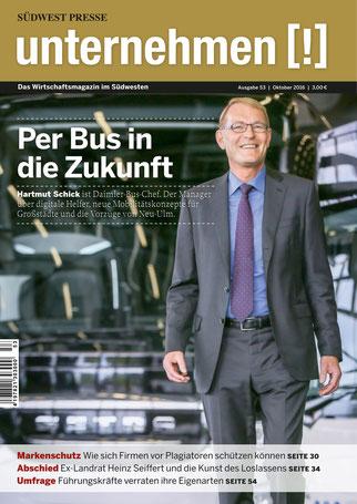 Unternehmen[!]- Magazin mit Mann 15