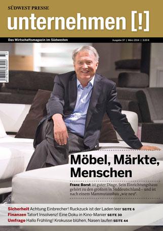 Unternehmen[!]- Magazin mit Mann 4