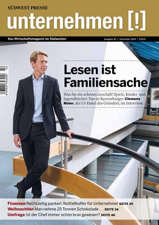 Unternehmen[!]- Magazin mit Mann 7
