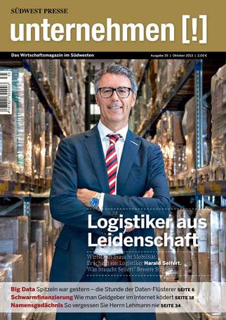Unternehmen[!]- Magazin mit Mann 2