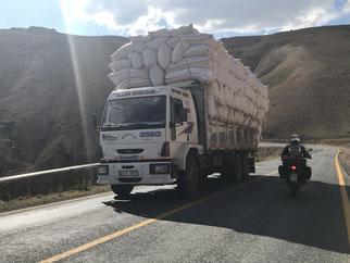Begegnung am Eğribel Pass