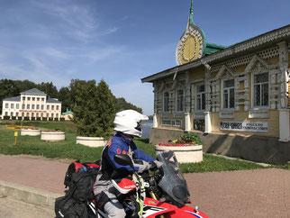 Museumsstadt Uglich - hier für traditionelle alte Kleider