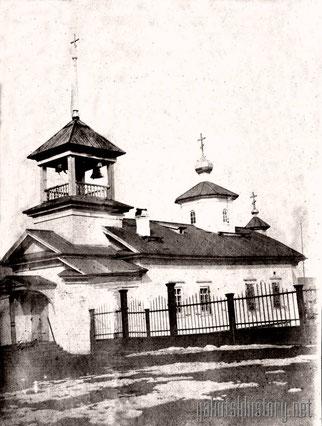Церковь в Маче. Снимок П.И. Злыгостева