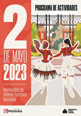 Fiestas del 2 de Mayo en Móstoles Programa y cartel