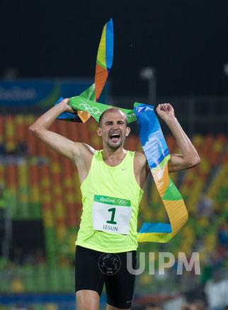 2016: Alex Lesun (RUS) Olympic Champion