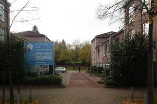 dudweiler, uni, universitaet, umweltforschung, am markt