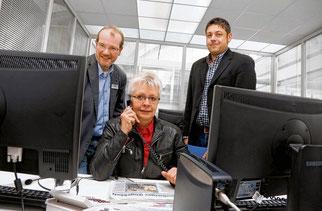 Telefonaktion der Mittelbadischen Presse