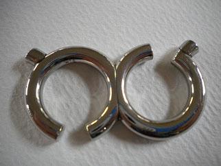 Doppelring  Stahl