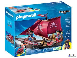 """Bei der Bestellung im Onlineshop der-Wegweiser erhalten Sie das Playmobil Paket 5683 """"Soldaten-Patrouillenboot""""."""