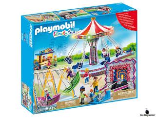 """Bei der Bestellung im Onlineshop der-Wegweiser erhalten Sie das Playmobil Paket 9482 """"Grosser Kirmesspass""""."""