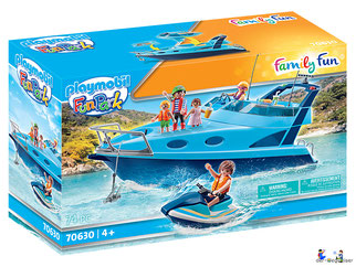 """Bei der Bestellung im Onlineshop der-Wegweiser erhalten Sie das Playmobil Paket 7060 """"Yacht""""."""