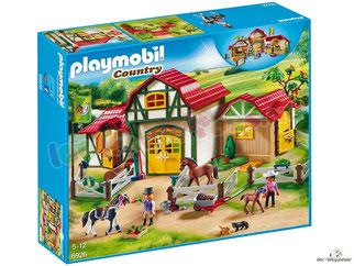 """Bei der Bestellung im Onlineshop der-Wegweiser erhalten Sie das Playmobil Paket 6926 """"Grosser Reiterhof""""."""