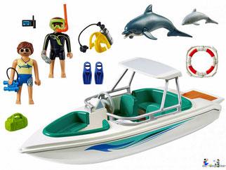 Im Paket Playmobil 6981 sind über 11 Einzelteile enthalten.