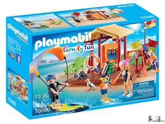 """Bei der Bestellung im Onlineshop der-Wegweiser erhalten Sie das Playmobil Paket 70090 """"Wassersport-Schule""""."""