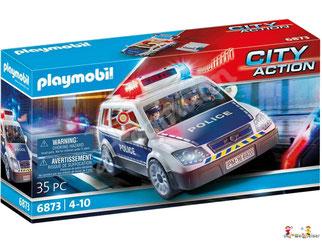 """Bei der Bestellung im Onlineshop der-Wegweiser erhalten Sie das Playmobil Paket 6920 """"Police-Einsatzwagen""""."""