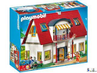"""Bei der Bestellung im Onlineshop der-Wegweiser erhalten Sie das Playmobil Paket 4279 """"Wohnhaus""""."""