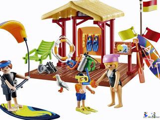 Besonderheiten im Playmobil Paket 70090 sind die zwei Boards.